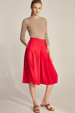 Pedro del Hierro Skirt pants Red