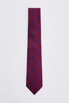 Pedro del Hierro Checked tie Red