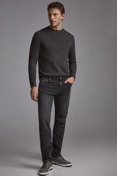 Pedro del Hierro Premium plain grey cashmere feel jeans Grey