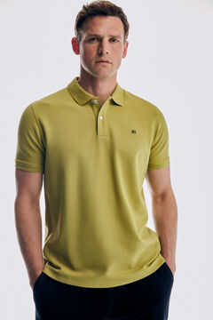 Pedro del Hierro Basic short sleeve polo shirt Black