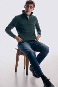 Pedro del Hierro Turtleneck sweatshirt Green