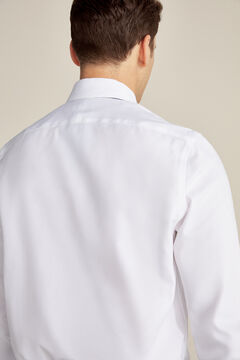 Pedro del Hierro Classic fit Tech-Non Iron dress shirt with cufflinks White