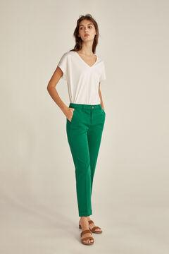 Pedro del Hierro Chino trousers Green