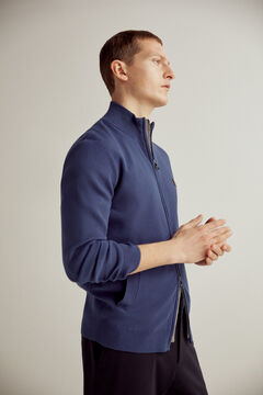 Pedro del Hierro Zip-up cardigan Blue