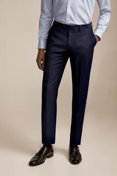 Pedro del Hierro Blue slim fit trousers Blue