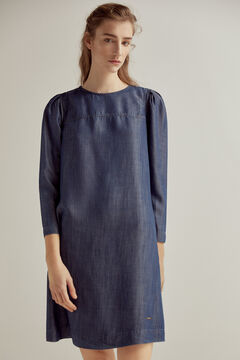 Pedro del Hierro Denim dress 100% Tencel® Blue