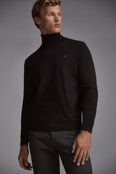 Pedro del Hierro Roll-neck jumper Black