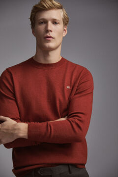 Pedro del Hierro Crew neck jumper Red