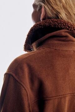 Pedro del Hierro Overcoat Brown