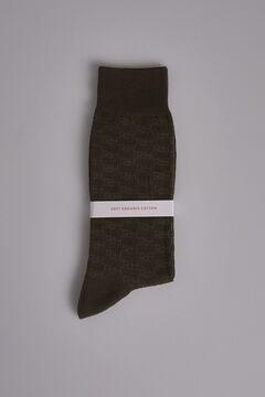 Pedro del Hierro Multi-logo socks Green