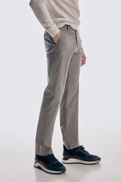 Pedro del Hierro Classic fit Premium Flex chinos Grey