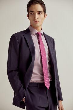 Pedro del Hierro Slim fit bi-stretch blazer Blue