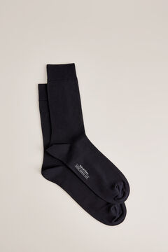 Pedro del Hierro Cotton dress socks            Blue