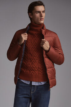 Pedro del Hierro Padded jacket Red