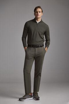 Pedro del Hierro Pantalón chino premium flex slim Grey