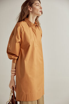 Pedro del Hierro Cotton tunic dress Beige
