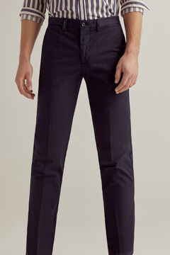 Pedro del Hierro Essential regular fit pima chinos  Blue