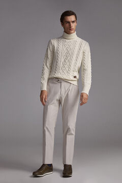 Pedro del Hierro Roll-neck jumper  White