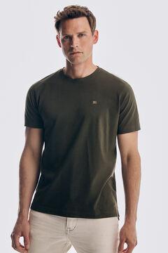 Pedro del Hierro Basic short sleeve t-shirt Grey