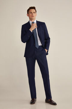 Pedro del Hierro Pantalón azul tailored fit Blue