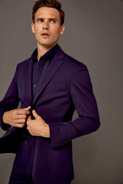 Pedro del Hierro Jersey-knit blazer Blue