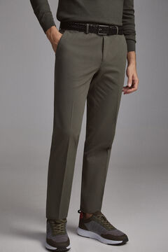 Pedro del Hierro Slim fit premium flex chinos  Grey