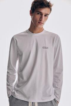 Pedro del Hierro Long-sleeved T-shirt White