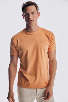 Pedro del Hierro Basic short sleeve t-shirt Red