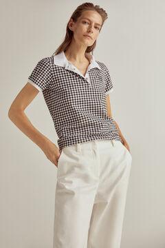 Pedro del Hierro Short-sleeved polo shirt Black