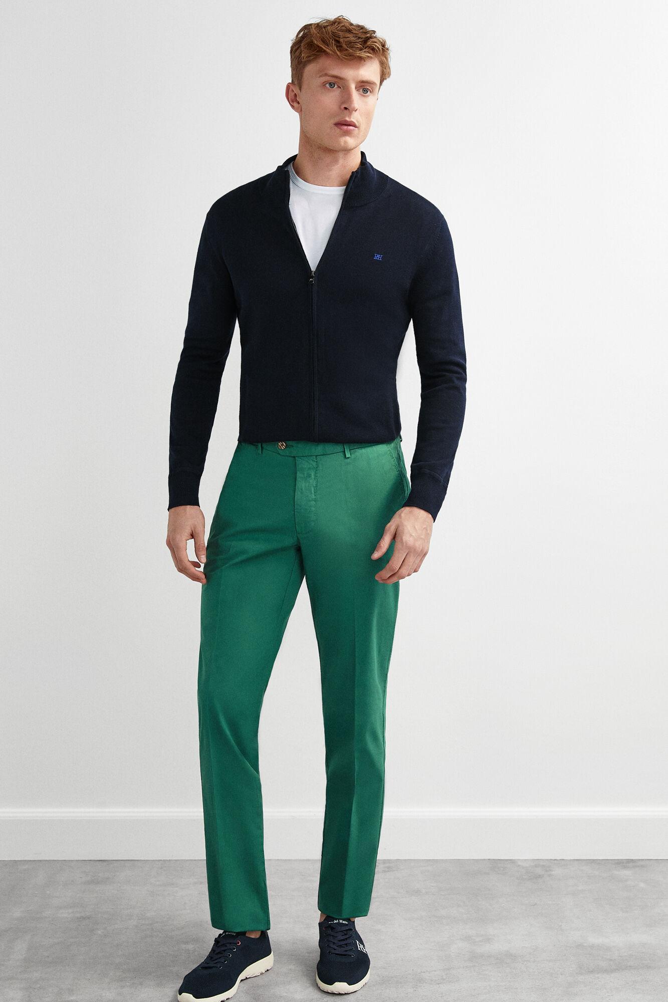 Regular Chinos Clasicos Pantalones Chinos Pantalones shdxrCtQ