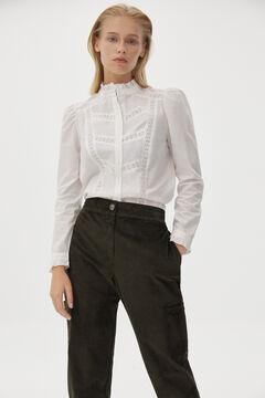 Pedro del Hierro Romantic blouse Beige