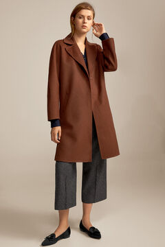 Pedro del Hierro Double-sided coat Brown