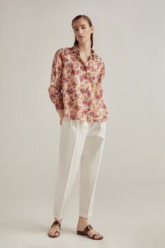 Pedro del Hierro Printed organic cotton blouse Several
