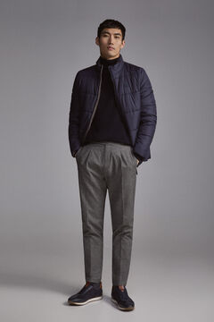 Pedro del Hierro PdH down coat Blue