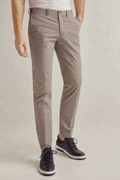 Pedro del Hierro Essential slim fit pima chinos Grey