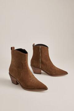 Pedro del Hierro Cowboy ankle boots Grey