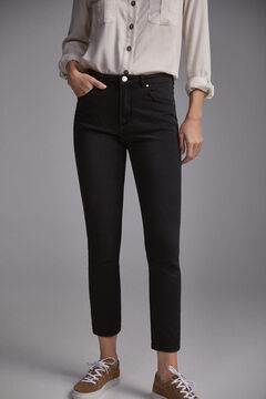Pedro del Hierro Skinny fit Push Up jeans Black