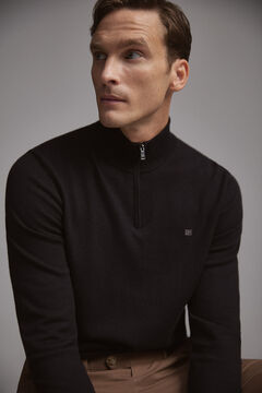 Pedro del Hierro Turtleneck jumper  Black