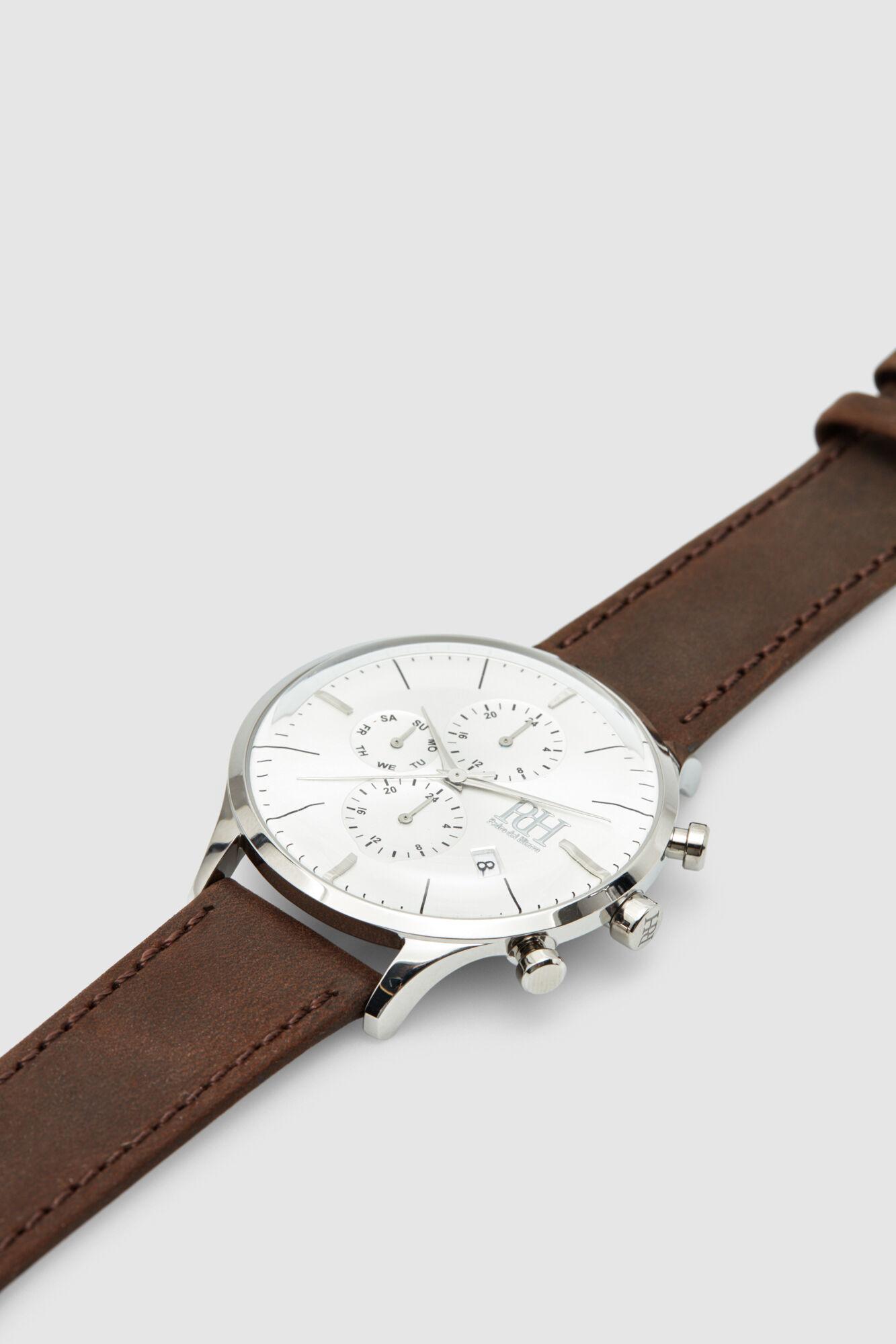 1c0a531e8793 Pedro del Hierro Reloj crono clásico piel Marrón