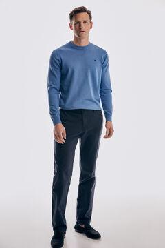 Pedro del Hierro Pantalón chino Premium Flex Classic Azul