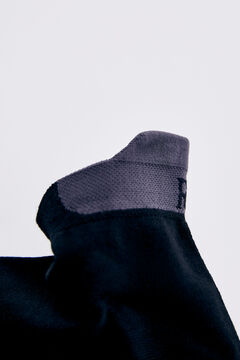 Pedro del Hierro Logo ankle socks Black