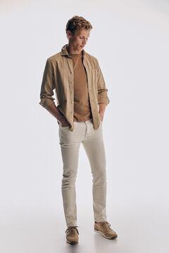 Pedro del Hierro Short sleeve t-shirt Beige