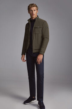Pedro del Hierro Jacket with removable lining Green