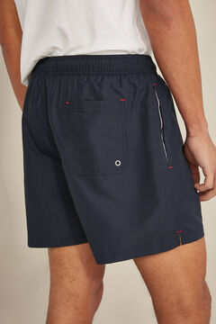 Pedro del Hierro Plain swim shorts Blue