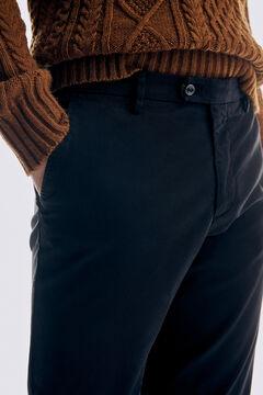 Pedro del Hierro Pantalón chino Premium Flex Slim Azul