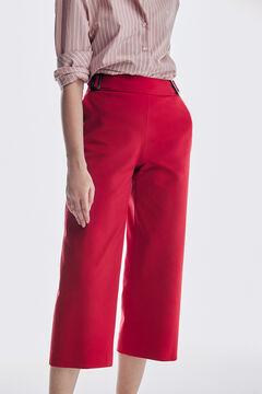 Pedro del Hierro Buckle culottes Red