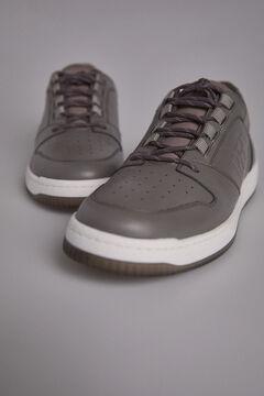 Pedro del Hierro Sneaker basket piel cepillada Gris