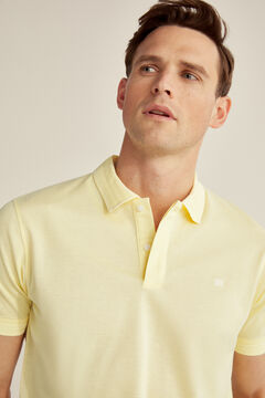 Pedro del Hierro Short-sleeved polo shirt Yellow