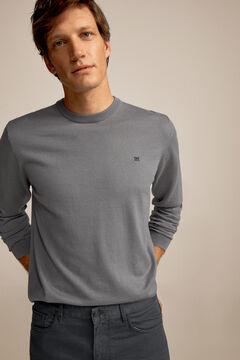 Pedro del Hierro Crew neck jumper Grey