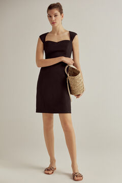 Pedro del Hierro Bodycon dress Black